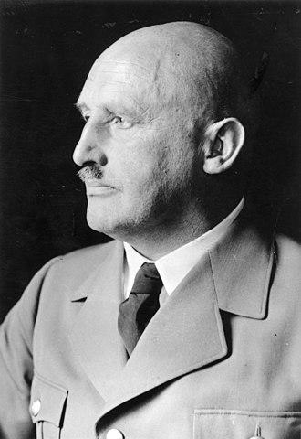 朱利叶斯·斯特雷彻(Julius Streicher),1935年